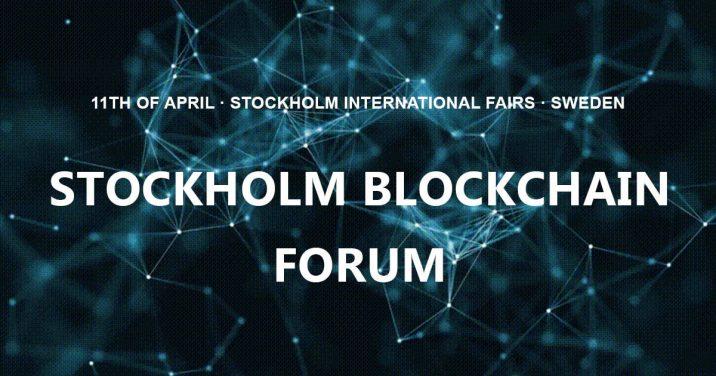 Stockholm Blockchain Forum 2019 (Sweden)