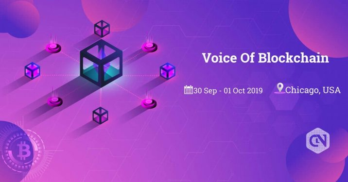 Voice of Blockchain Conference Sep 30th & Oct 1st 2019, Chicago, IL, USA